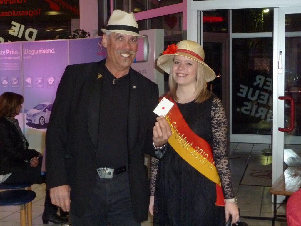 Franz & Miss Strohhut, Frankenthal